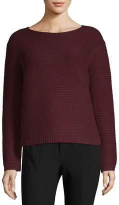 Lafayette 148 New York Women's Link-Stitch Cashmere Sweater
