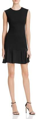 Rebecca Taylor Stacy Contrast Skirt Dress
