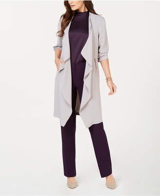 Nine West Draped Duster Jacket