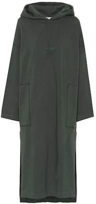 Acne Studios Hoodie cotton dress