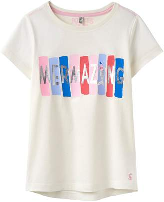 Joules Girls Astra Jersey Tshirt