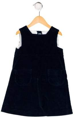 Papo d'Anjo Girls' Corduroy Shift Dress