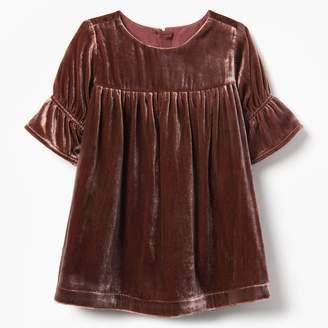 Gymboree Velvet Tiered Dress