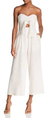 ASTR the Label Mara Strapless Wide-Leg Jumpsuit
