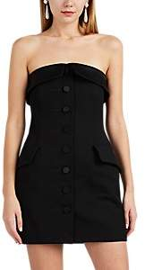 Alexander Wang Women's Wool Strapless Tuxedo Dress - Black