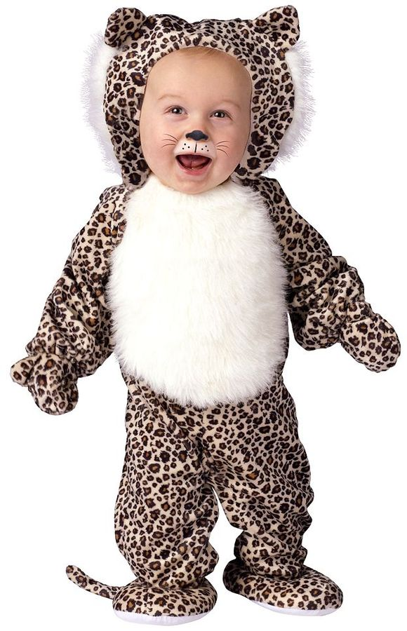 Li'l leopard costume - toddler