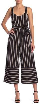 Lucca Couture Naples Stripe Jumpsuit
