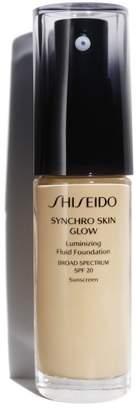 Shiseido Synchro Skin Glow Luminizing Fluid Foundation Broad Spectrum Spf 30 - G3