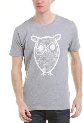 Knowledge Cotton Apparel Knowledgecotton Owl Diagram T-Shirt