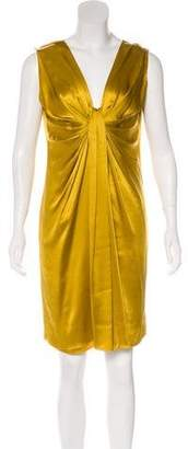 Lanvin Satin Shift Dress