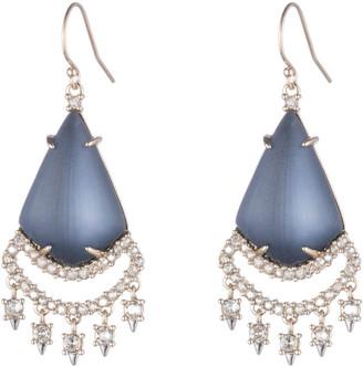 Alexis Bittar Crystal Lace Chandelier Earring