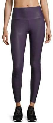 Onzie High-Rise Textured Performance Leggings w/ Mesh