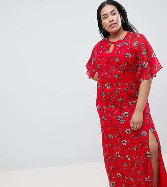Junarose Floral Maxi Dress