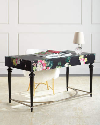 Hooker Furniture Cynthia Rowley For Fleur de Glee Writing Desk