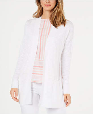 Charter Club Cotton Long Cardigan