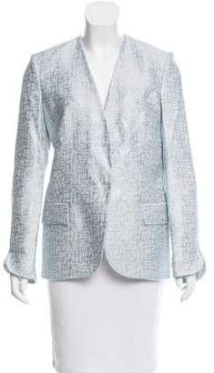 Genny Metallic Textured Blazer w/ Tags
