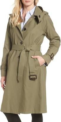 MICHAEL Michael Kors Hooded Trench Coat