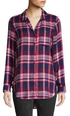 Jak & Rae Tartan Plaid Button-Down Shirt