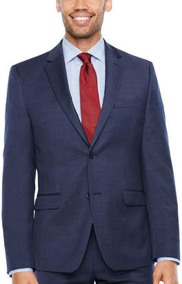 COLLECTION Collection by Michael Strahan Pin Dot Slim Fit Stretch Suit Jacket-Slim