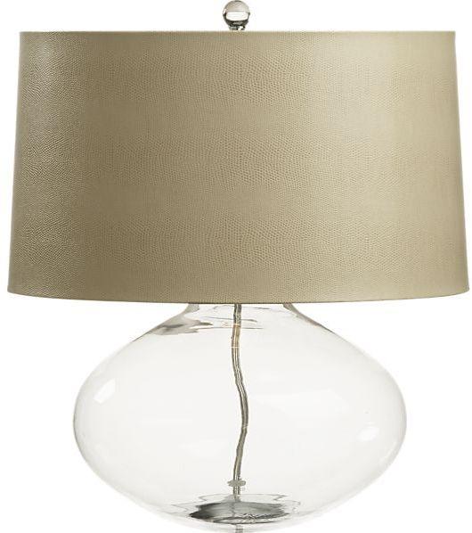 Crate & Barrel Jack Table Lamp