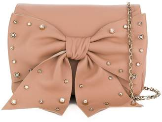 RED Valentino studded bow crossbody bag