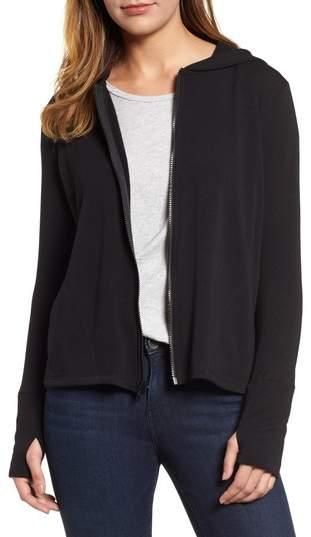 Off-Duty Zip Front Hooded Jacket