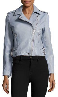 BagatelleSolid Leather Jacket
