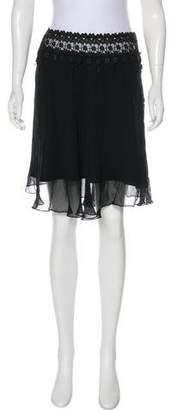 Betsey Johnson Knee-Length Lace Skirt