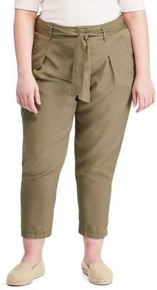 Lauren Ralph Lauren Plus Classic Twill Pants