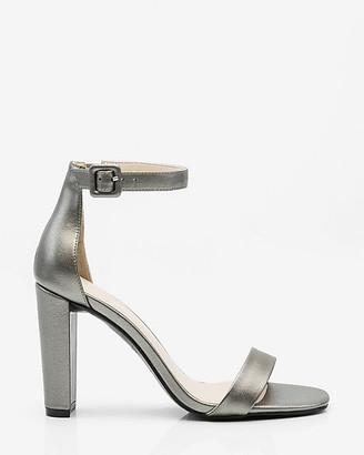 Le Château Metallic Ankle Strap Sandal