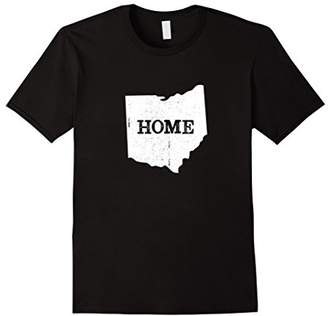Ohio Home Vintage Map state outline graphic tee shirt gift