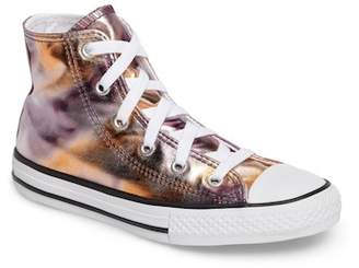 Converse Chuck Taylor(R) All Star(R) Metallic High Top Sneaker (Baby, Toddler, & Little Kid)