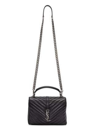 Saint Laurent Ms. red handbag single shoulder bag.