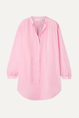 Skin - Brea Crinkled Cotton-voile Shirt - Blush