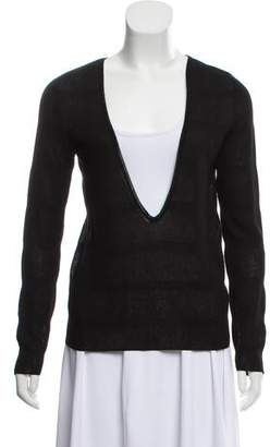 Les Copains Lightweight V-Neck Sweater