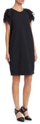 Brunello Cucinelli Cotton Felpa T-Shirt Dress
