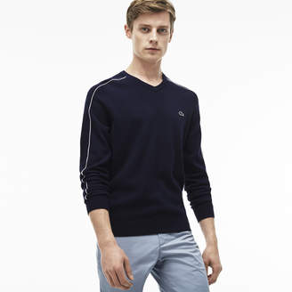 Lacoste (ラコステ) - Vネックセーター (長袖)