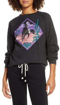 Rag Doll Ragdoll Horse Graphic Sweatshirt