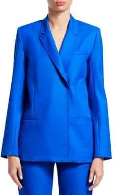 Victoria Beckham Victoria, Longline Wool Blazer