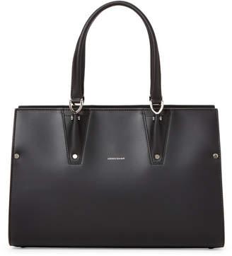 Longchamp Black Paris Premier Large Tote