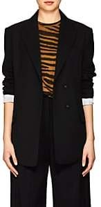 Proenza Schouler Women's Stretch-Wool Two-Button Blazer - Black