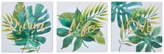 Graham & Brown Tropical Leaves Wall Art Trio