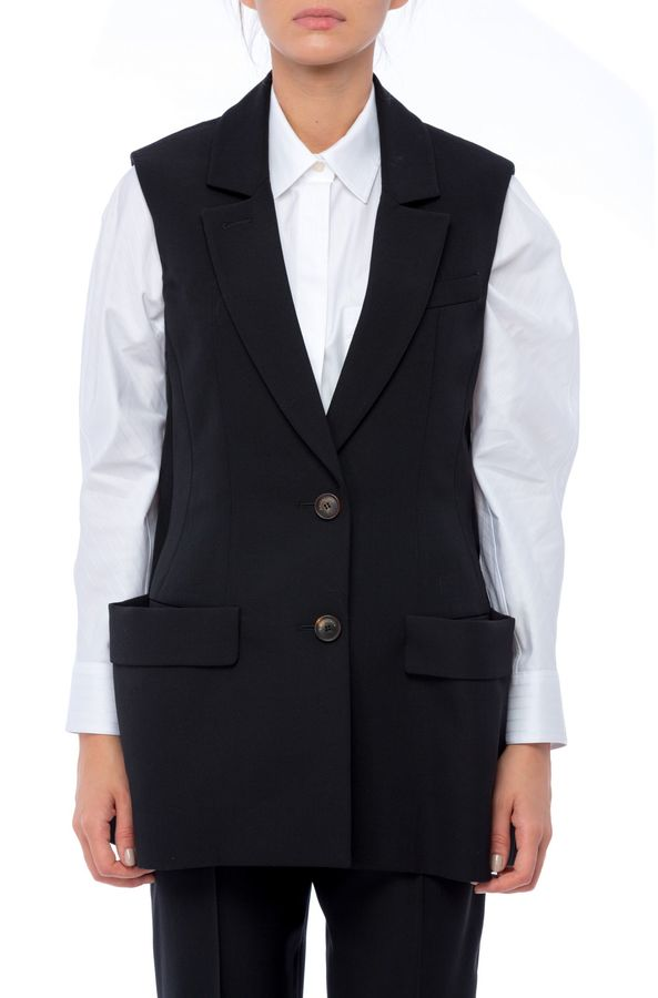 Balenciaga Balenciaga Black Wool Vest