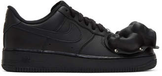 Comme des Garcons Black Nike Edition Air Force 1 07 Sneakers
