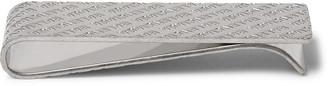 Balenciaga Logo-Engraved Palladium-Plated Money Clip - Men - Silver
