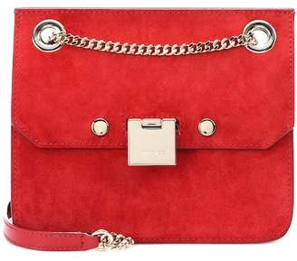 Jimmy Choo Rebel XB suede shoulder bag