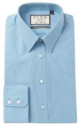 Thomas Pink Errol Textured Super Slim Fit Dress Shirt