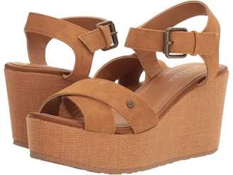 Volcom Stone Platform Women's Wedge Shoes
