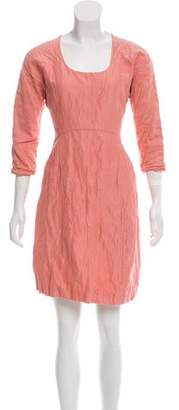 Calvin Klein Collection Ruched Mini Dress