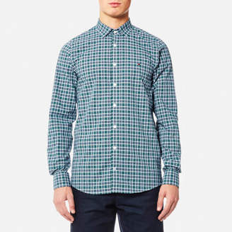 Tommy Hilfiger Men's Finny Check Long Sleeve Shirt